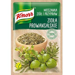Zioła prowansalskie, mieszanka ziół i przypraw Knorr marki Knorr - zdjęcie nr 1 - Bangla
