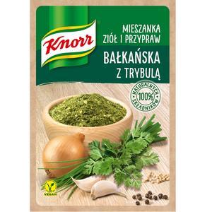 Bałkańska z trybulą, mieszanka ziół i przypraw Knorr marki Knorr - zdjęcie nr 1 - Bangla