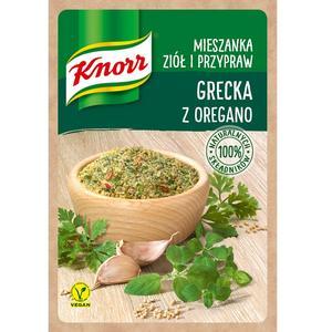 Grecka z oregano, mieszanka ziół i przypraw Knorr marki Knorr - zdjęcie nr 1 - Bangla
