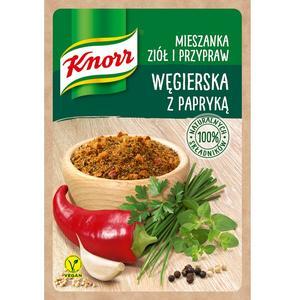 Węgierska z papryką, mieszanka ziół i przypraw Knorr marki Knorr - zdjęcie nr 1 - Bangla