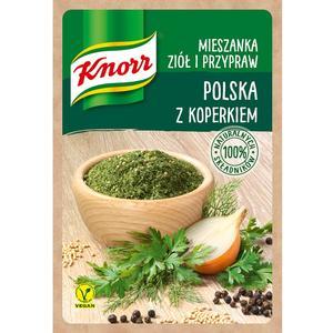Polska z koperkiem, mieszanka ziół i przypraw Knorr marki Knorr - zdjęcie nr 1 - Bangla