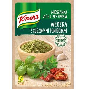 Włoska z pomidorami, mieszanka ziół i przypraw Knorr marki Knorr - zdjęcie nr 1 - Bangla