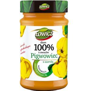Dżem 100% owoców, Pigwowiec z acerolą marki Łowicz - zdjęcie nr 1 - Bangla