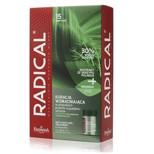 Kuracja wzmacniająca przeciw wypadaniu włosów w ampułkach marki Radical - zdjęcie nr 1 - Bangla