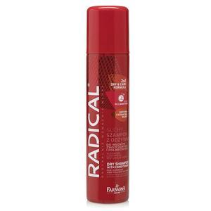 Suchy szampon z odżywką do włosów zniszczonych i osłabionych 2w1 Formuła Wzmacniająca marki Radical - zdjęcie nr 1 - Bangla