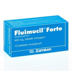 Fluimucil Forte, tabletki musujące marki Zambon - zdjęcie nr 1 - Bangla