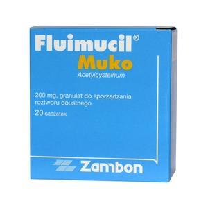Fluimucil Muko, granulat do sporządzania roztworu doustnego marki Zambon - zdjęcie nr 1 - Bangla