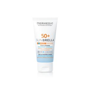 Krem ochronny SPF 50+ UV+IR skóra z problemami naczyniowymi, Sunbrella marki Dermedic - zdjęcie nr 1 - Bangla