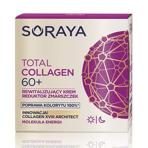 Total Collagen, Rewitalizujący krem reduktor zmarszczek marki Soraya - zdjęcie nr 1 - Bangla