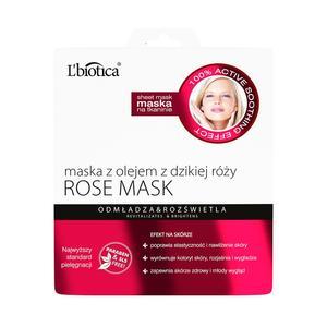 Rose Mask, Maska na tkaninie marki L'biotica - zdjęcie nr 1 - Bangla