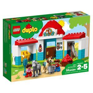 Stajnia z kucykami (10868) marki LEGO DUPLO - zdjęcie nr 1 - Bangla