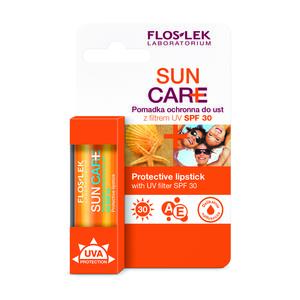Pomadka ochronna do ust z filtrem UV SPF 30 marki FlosLek - zdjęcie nr 1 - Bangla