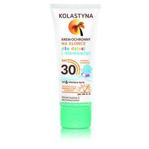 Krem ochronny na słońce dla dzieci i niemowląt SPF 30 i SPF 50 marki Kolastyna - zdjęcie nr 1 - Bangla