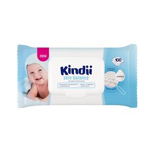 Chusteczki nawilżane dla dzieci i niemowląt do skóry normalnej Skin Balance marki Kindii - zdjęcie nr 1 - Bangla