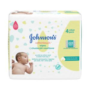 Chusteczki nawilżane z bawełną marki JOHNSON'S ® - zdjęcie nr 1 - Bangla