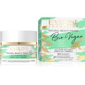 Aktywnie matujący krem do twarzy Natural Beauty Foods Bio Vegan marki Eveline Cosmetics - zdjęcie nr 1 - Bangla