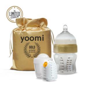 Zestaw samonagrzewający z butelką antykolkową marki Yoomi - zdjęcie nr 1 - Bangla