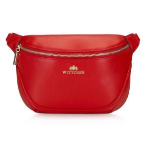 Ogniście czerwona torebka nerka marki Wittchen - zdjęcie nr 1 - Bangla