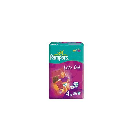 Pampers Let's Go 4, 5, 6 marki Pampers - zdjęcie nr 1 - Bangla