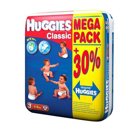 Pieluchy Huggies Classic. Różne rozmiary marki Huggies - zdjęcie nr 1 - Bangla