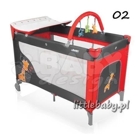 Łóżeczko turystyczne Dream marki Baby Design - zdjęcie nr 1 - Bangla