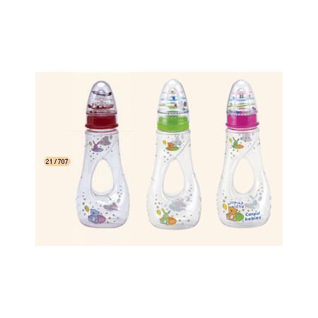Butelka TWIST z grzechotką marki Canpol babies - zdjęcie nr 1 - Bangla
