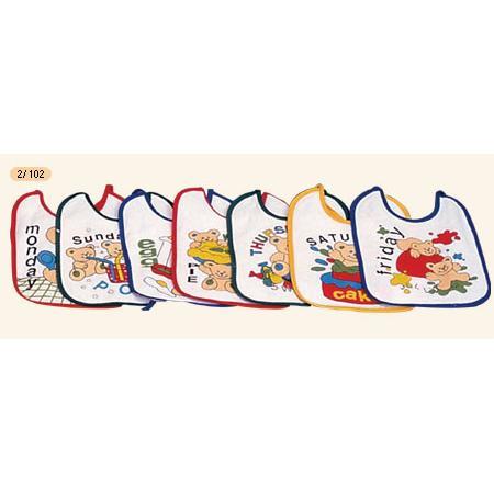 Śliniak bawełniano-ceratkowy, 2/102, 2/103 marki Canpol babies - zdjęcie nr 1 - Bangla