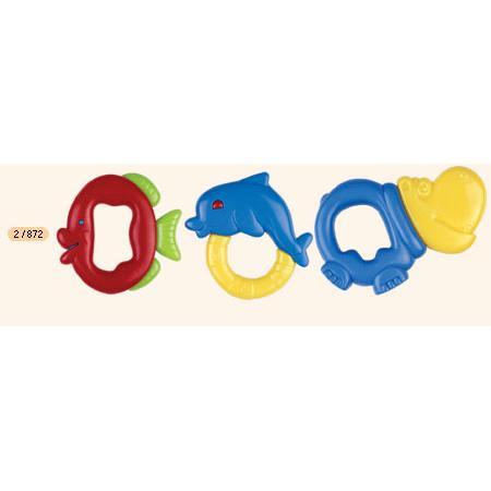 Grzechotka z gryzakiem elastycznym marki Canpol babies - zdjęcie nr 1 - Bangla