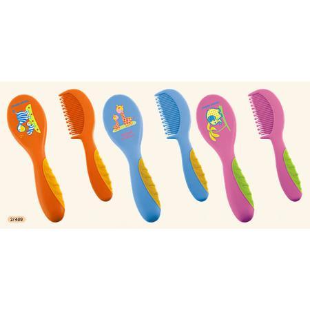 Szczotka do włosów z grzebykiem Safari, 2/409 marki Canpol babies - zdjęcie nr 1 - Bangla