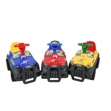 Jeździdełko Jeep. Jeździk pchacz. Różne rodzaje i kolory. marki Arti - zdjęcie nr 1 - Bangla