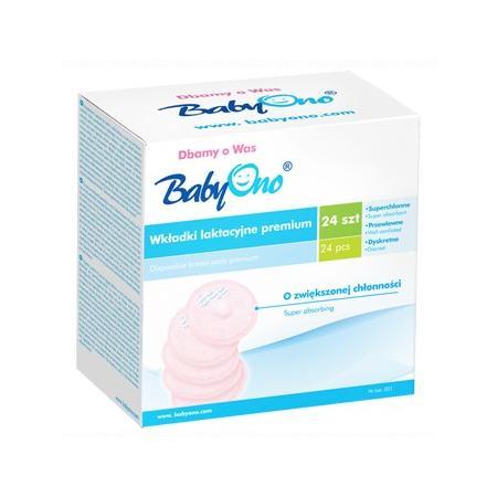 Wkładki laktacyjne Premium marki Baby Ono - zdjęcie nr 1 - Bangla