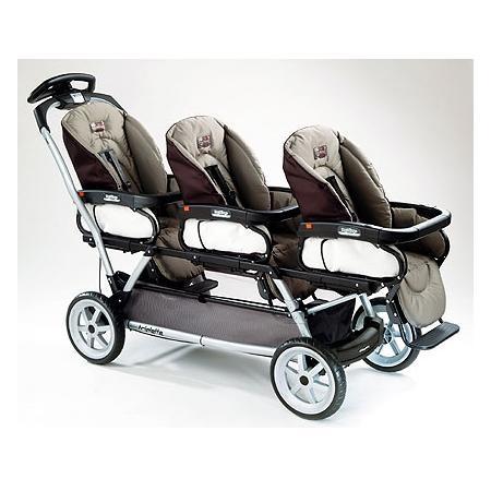 Wózek dla trojaczków Triplette SW marki Peg Perego - zdjęcie nr 1 - Bangla