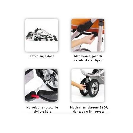 Wózek Bolder 3 marki Implast - zdjęcie nr 1 - Bangla