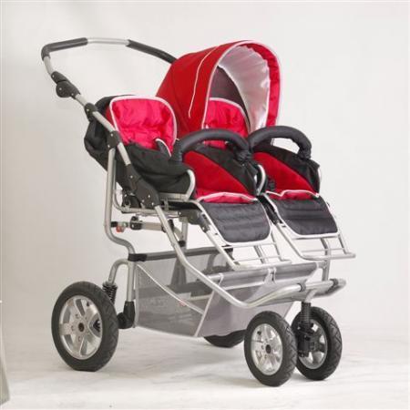 Wózek dla bliźniąt Spider marki Implast - zdjęcie nr 1 - Bangla