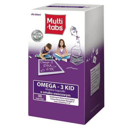 Multi Tabs, Omega 3 KID kapsułki marki Ferrosan - zdjęcie nr 1 - Bangla