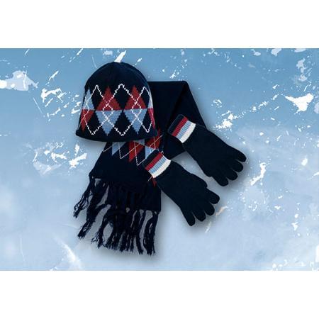 Komplet: czapka, rękawiczki, szalik oraz same rękawiczki One Day marki Mariquita - zdjęcie nr 1 - Bangla