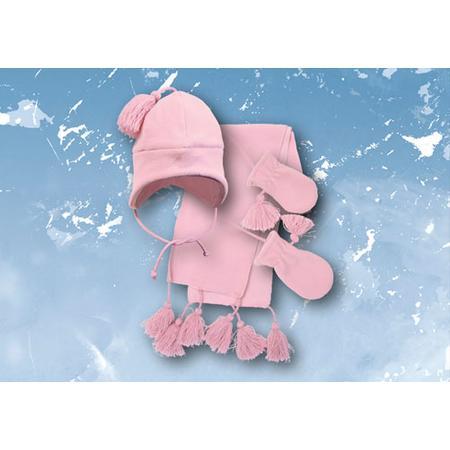Komplet: czapka, rękawiczki i szalik Royal Academy, rozmiary: 8/9, 10/11, 12/13, obwód głowy: 42 do 50 cm marki Mariquita - zdjęcie nr 1 - Bangla