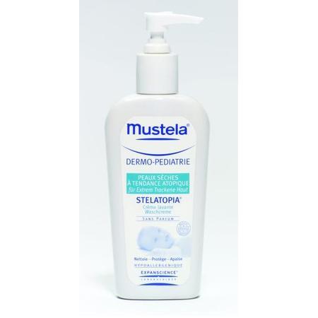 Mustela Stelatopia Krem myjący, mydło w kremie marki Mustela - zdjęcie nr 1 - Bangla