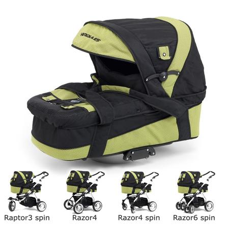 Gondola do wózków: Radius, Raptor3 Spin, Razor4, Razor4 Spin, Razor6 Spin marki Herqules - zdjęcie nr 1 - Bangla