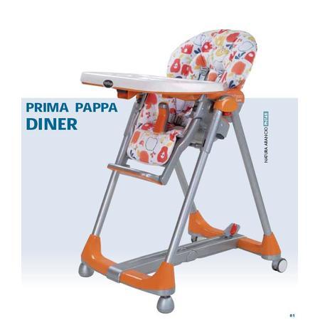 Krzesełko Prima Pappa Diner marki Peg Perego - zdjęcie nr 1 - Bangla
