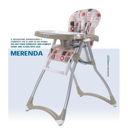 Krzesełko Merenda marki Peg Perego - zdjęcie nr 1 - Bangla