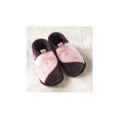 Miękkie buciki ze skórki marki Pololo - zdjęcie nr 1 - Bangla