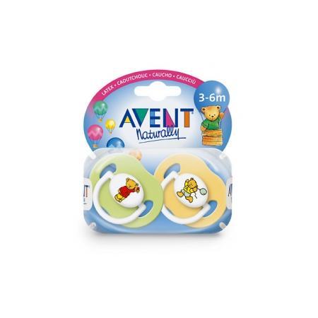 Smoczek silikonowy, 0% BPA / 2 lub 6 dziurek na tarczy marki Avent - zdjęcie nr 1 - Bangla