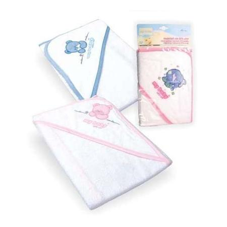 Okrycie kąpielowe - ręcznik z kapturkiem Safety Care marki My Baby Interkobo - zdjęcie nr 1 - Bangla