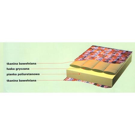 Materac piankowo gryczany marki Radir - zdjęcie nr 1 - Bangla