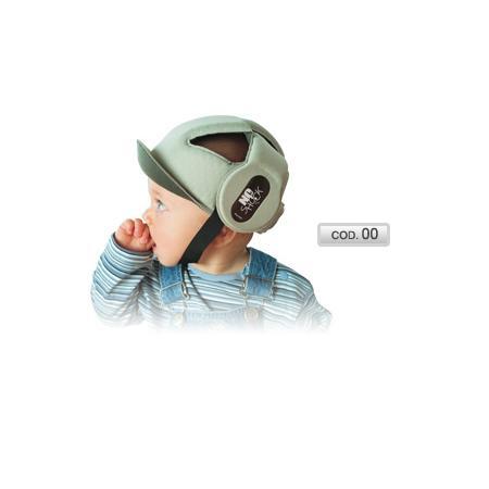 Miękki kask czapeczka ochronna No Shock marki OkBaby - zdjęcie nr 1 - Bangla