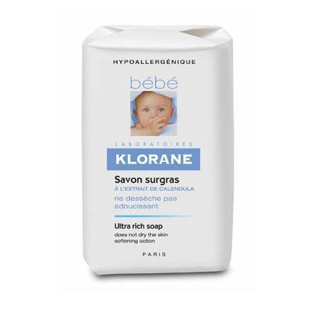 Delikatne natłuszczające mydełko marki Klorane Bebe - zdjęcie nr 1 - Bangla