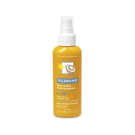 Spray z wysoką ochroną przeciwsłoneczną SPF 30 marki Klorane Bebe - zdjęcie nr 1 - Bangla