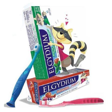 Junior Pasta do zębów mlecznych dla dzieci od 2 do 8 lat marki Elgydium - zdjęcie nr 1 - Bangla