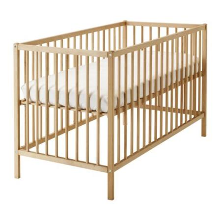 SNIGLAR łóżeczko dziecięce marki IKEA - zdjęcie nr 1 - Bangla